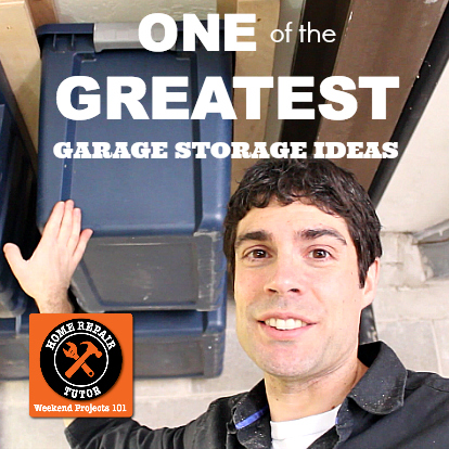 One of the greatest garage storage ideas ever