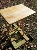 no more tray table, painted furniture, repurposing upcycling, plain tray table