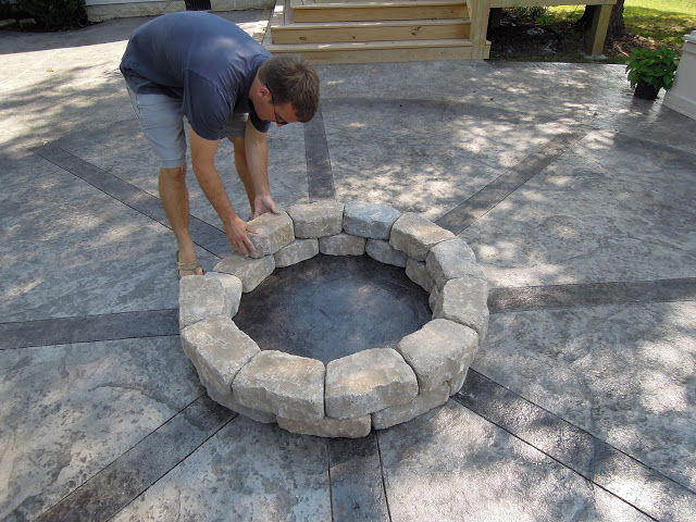 How To Build A Firepit Outdoor Living Patio