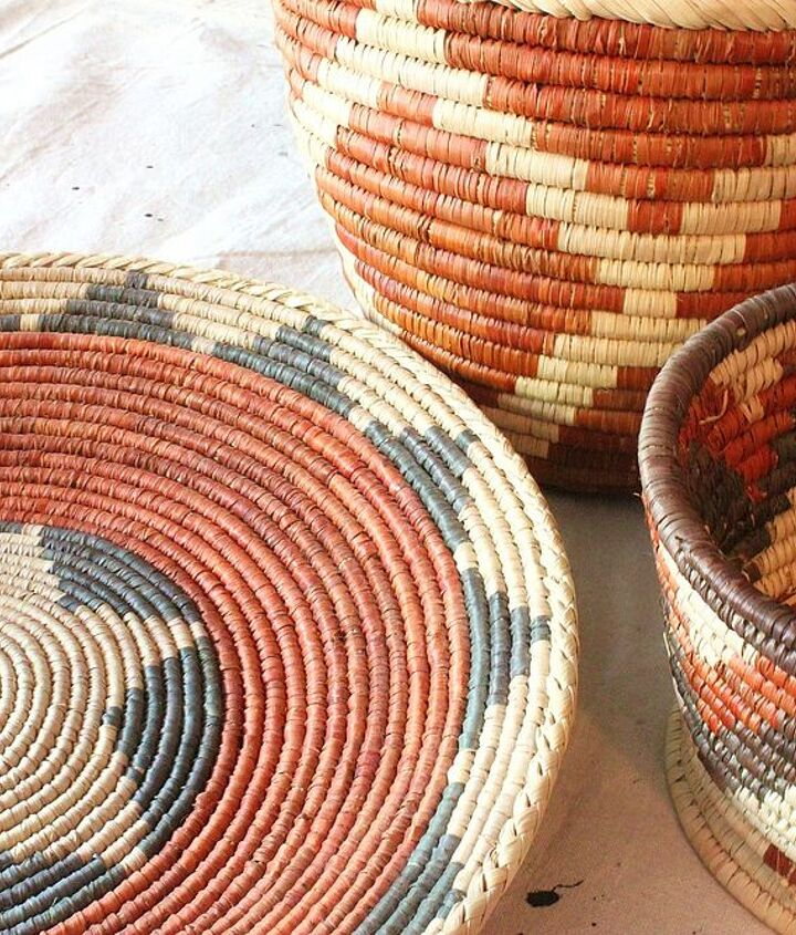 "These are simple ""Indian Style"" baskets from an import store."