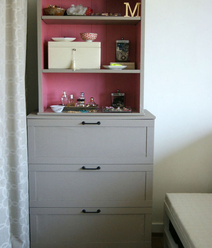 dumpster dive dresser with hutch, painted furniture