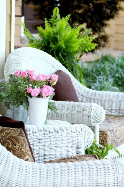 summer southern porch, outdoor living, porches