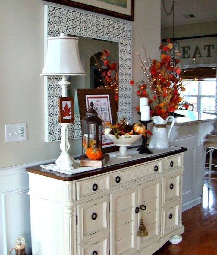 2012 fall great room, living room ideas, seasonal holiday decor