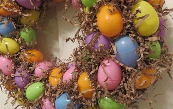 Make an Easter Egg Wreath