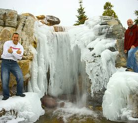 Explore An Icy Waterfall And Grotto In St Charles Illinois, Ponds Water  Features, Aquascape