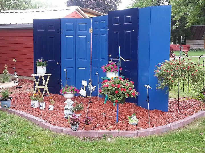 q updated photos of our previous work this spring, doors, fences, flowers, gardening, outdoor living, Privacy fence