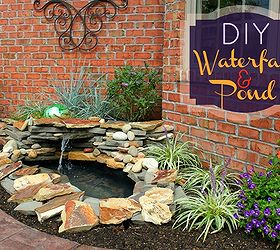 Diy Backyard Pond Amp Landscape Water Feature, Landscape, Outdoor Living,  Patio, Ponds