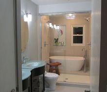 master bathroom remodel, bathroom ideas, diy, home decor, home maintenance repairs, Finished
