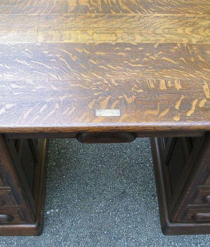 restoration of antique roll top desk, painted furniture, Nice grain