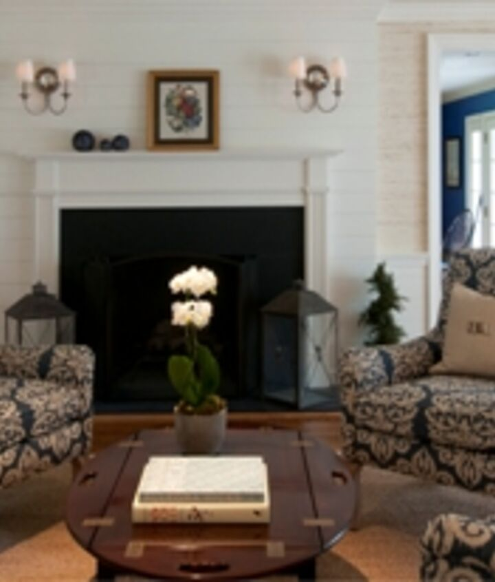 Living Room Renovation in New Canaan, CT by Titus Built, LLC