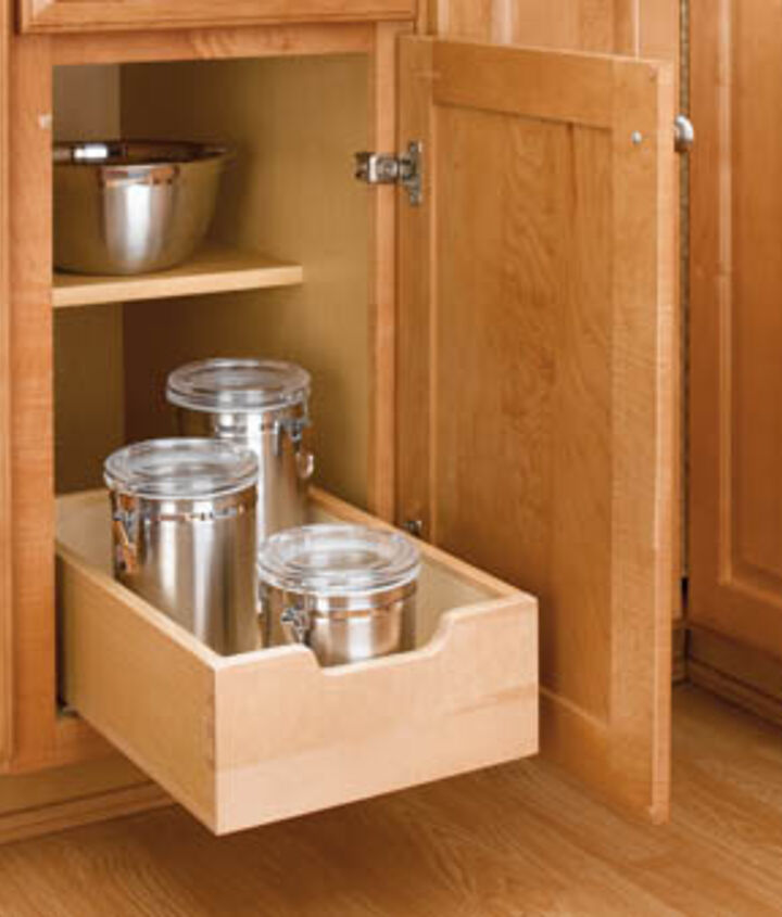 Increase base cabinet storage by up to 25% with roll-out trays!! http://bit.ly/g0Folc