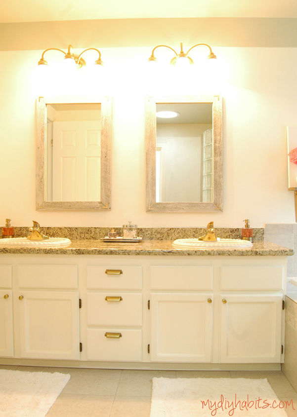 reclaimed fence vanity mirrors, diy, repurposing upcycling