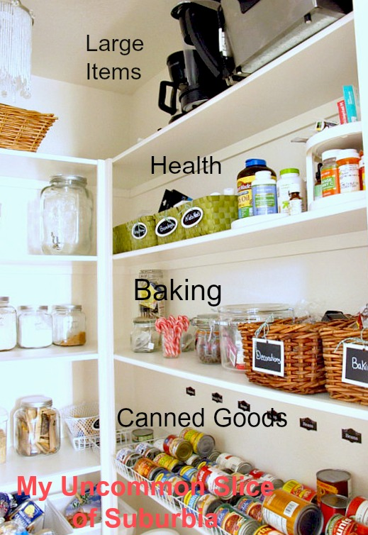 creating a organized pantry, closet, organizing, storage ideas