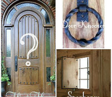 question, doors, home decor, What do you think Door Knocker Speakeasy or leave well enough alone thanks for you input guys xo