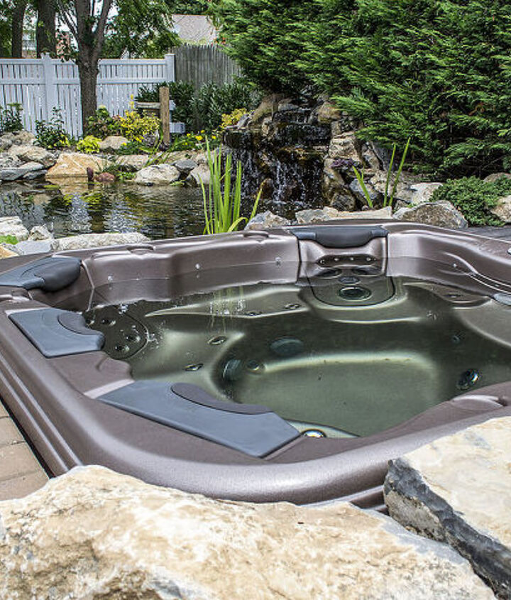 Bullfrog spa seats 6 people and has great deep tissue massage. http://www.deckandpatio.com/DP_Blog/