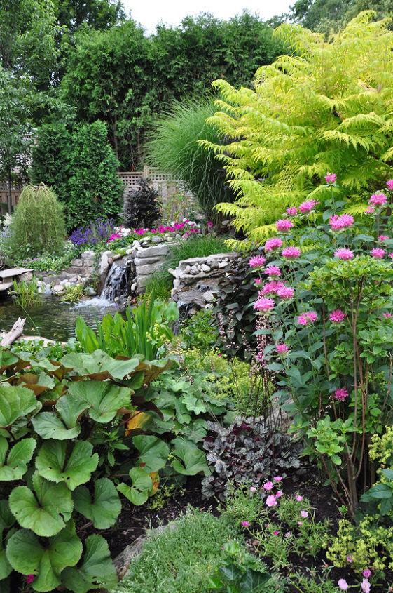 See more of this garden: http://threedogsinagarden.blogspot.ca/2013/05/a-small-garden-with-pretty-pond.html