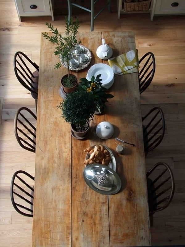 What do you think of when you think of a Farmhouse Table?