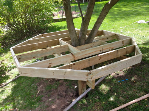Diy Build Your Kids A Play Castle Outdoor Living Woodworking Projects