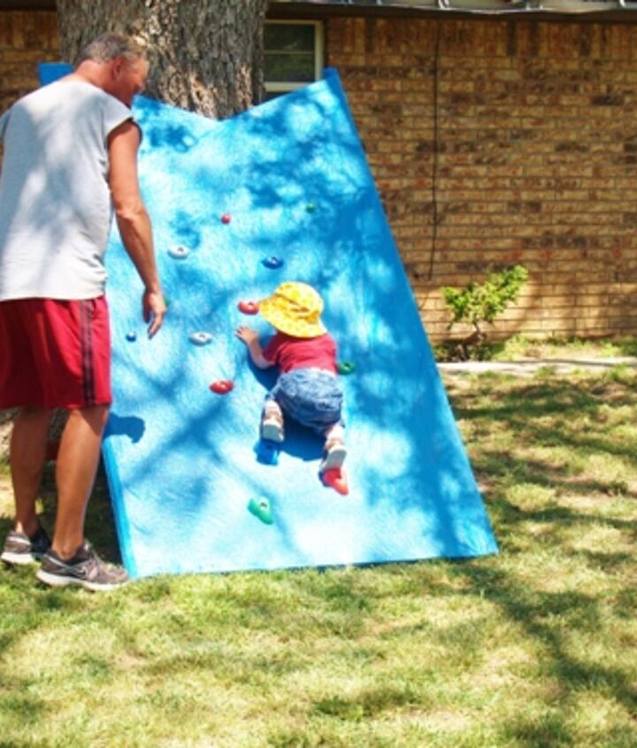 make the little one in your life a climbing wall for less than 50, diy, how to, outdoor living, woodworking projects