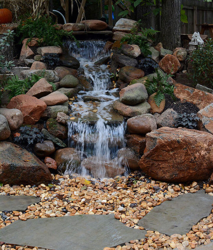 And we love the pondless waterfall...we can hear it from the screen porch and even from the den when the doors are open!