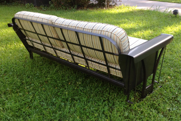 Vintage Porch Glider Restoration Hometalk