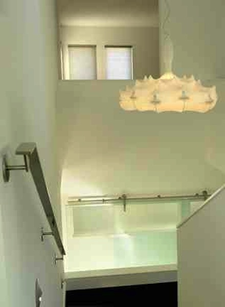 Renovated staircase.
