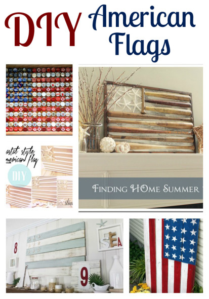 diy american flag, crafts, patriotic decor ideas, seasonal holiday decor