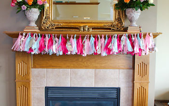 How to Host a Baby Shower Day Three (Tissue Paper Bunting)