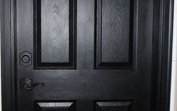 Painting My Interior (and Exterior) Doors Black!