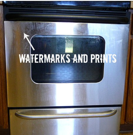 is stainless steel mis named, appliances, cleaning tips, Not so Stainless Steel