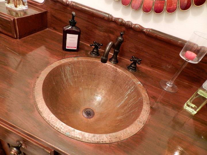 I have ruined my copper sink! Please help! | Hometalk