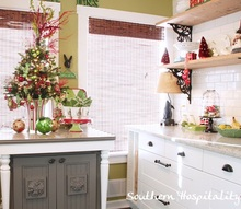 christmas inspiration in the kitchen, christmas decorations, seasonal holiday decor