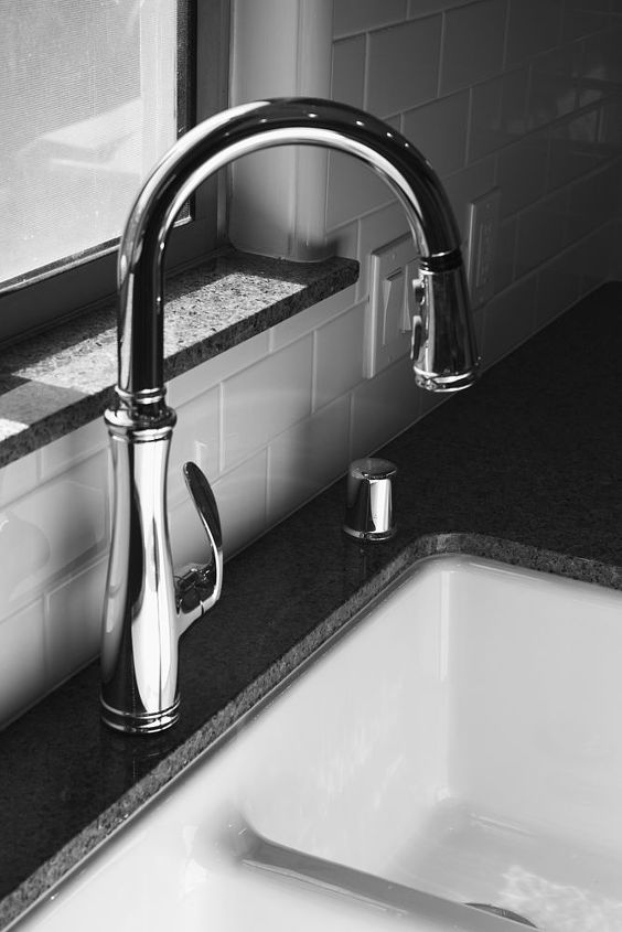 Plumbing fixtures by Kohler added another nice finishing feature. Let's get the party started.