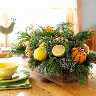 making pomanders, home maintenance repairs, seasonal holiday decor
