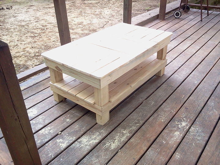 coffee table 1 amp 2, diy, painted furniture, woodworking projects