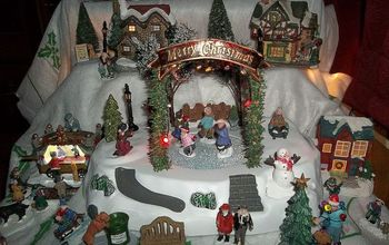 Our Christmas Village:)
