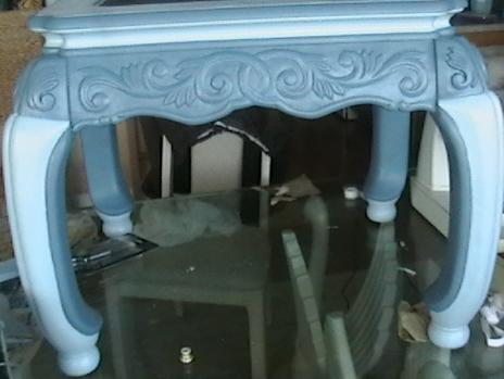 what should i do with the top, painted furniture