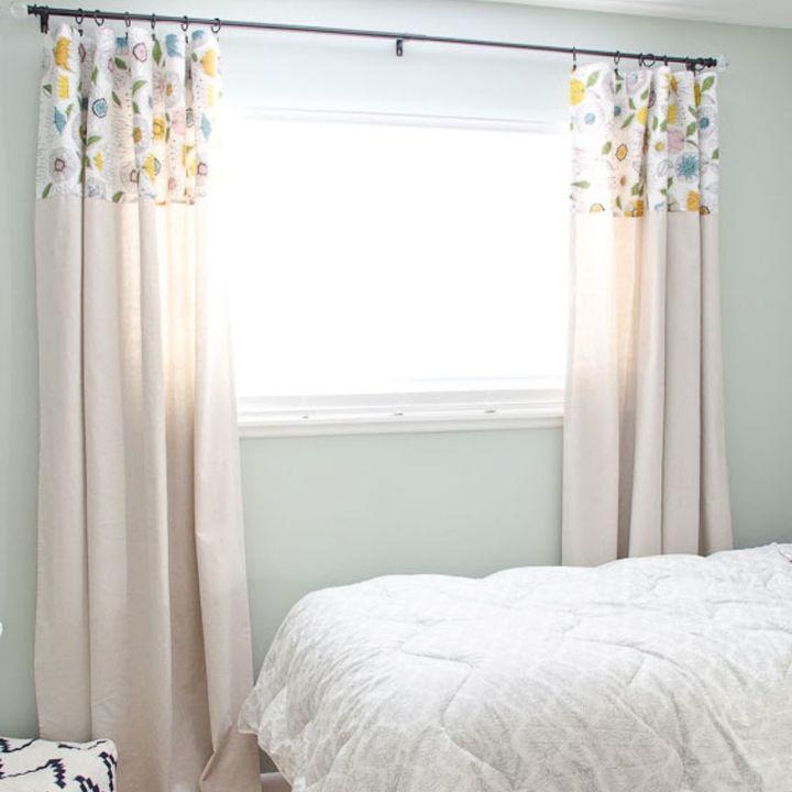 window treatments for bedroom. diy no sew drop cloth curtains  bedroom ideas home decor reupholster window DIY No Sew Drop Cloth Curtains Hometalk