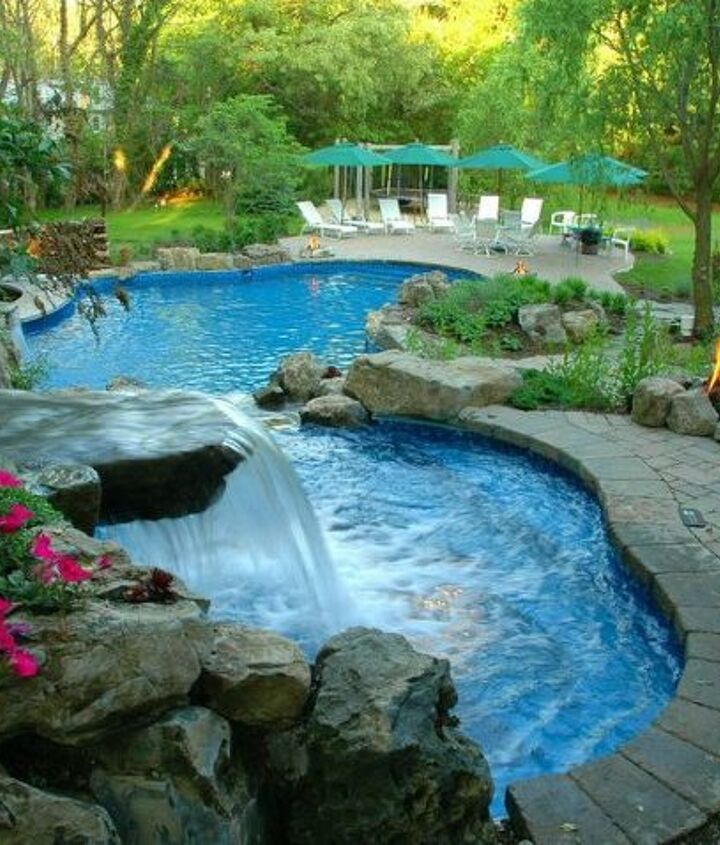 Cascading Water Features