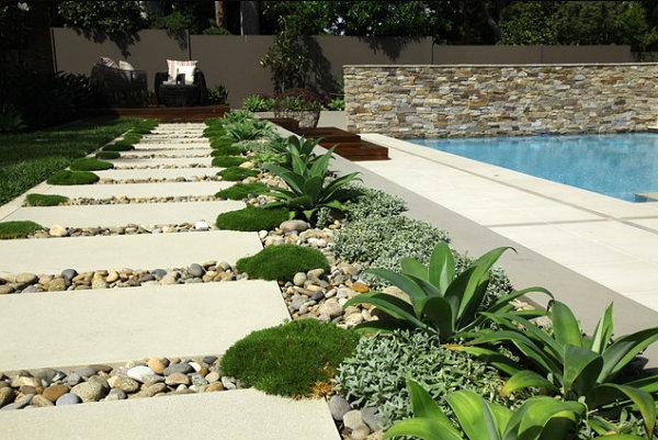 garden path, gardening, landscape