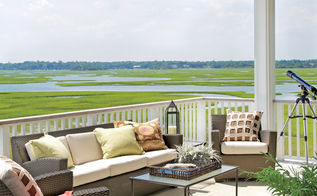 classically cool shore house, home decor, Shop the sun porch