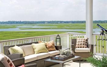 classically cool shore house, home decor, Shop the sun porch