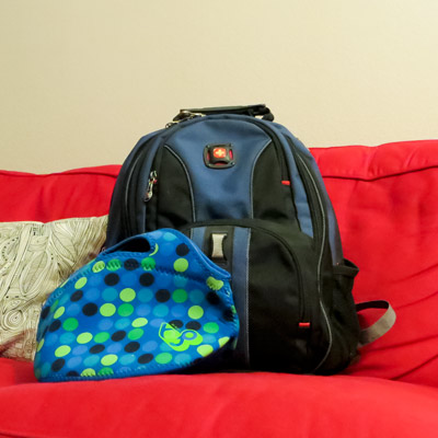 how to clean a backpack, cleaning tips