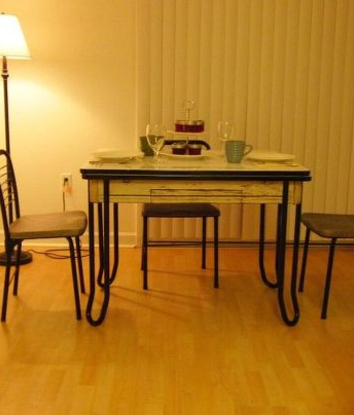 proper care of my vintage table, painted furniture