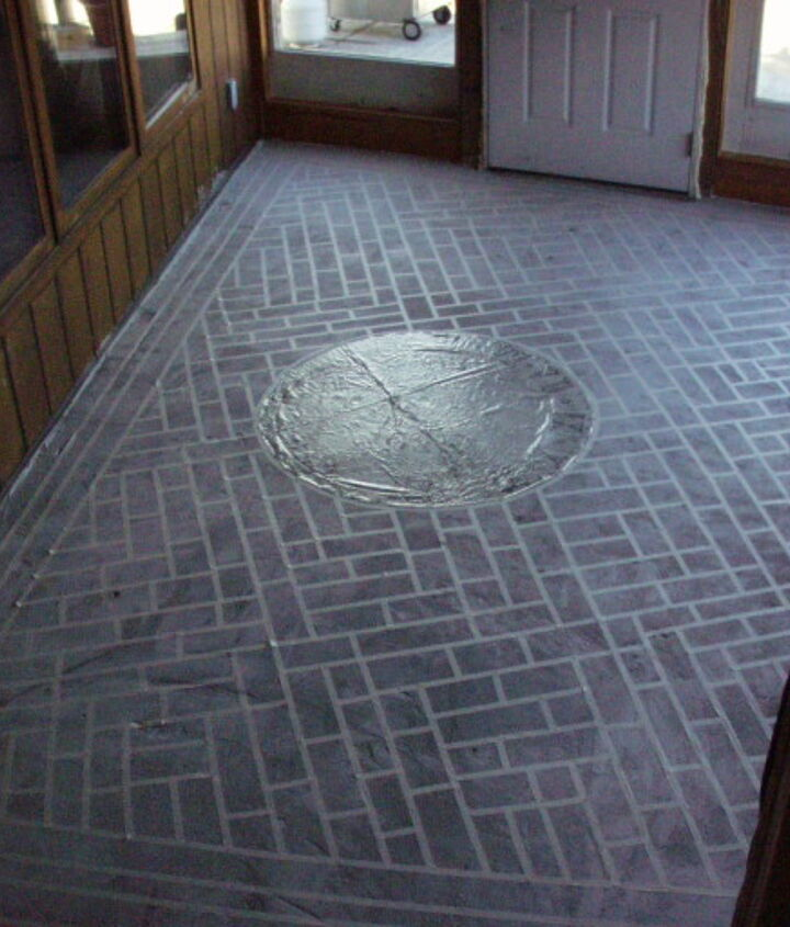 painted concrete floors that last and last and last, diy, flooring, painting, porches