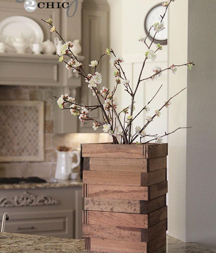 Wood Scrap Vase