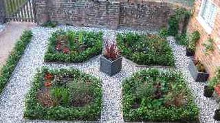 gravel pit what to do, gardening, landscape, Example of an herb parterre via