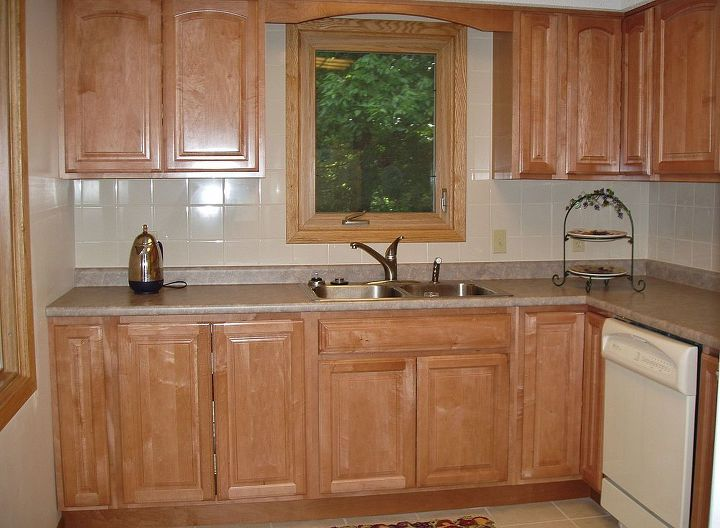 The lower cabinets all have pull outs for easy access. There is tons of storage space that was previously wasted.