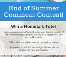 end of summer comment contest