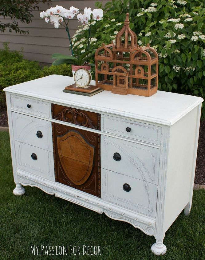 1920 S Dresser Rescue Chalk Paint Painted Furniture Rustic